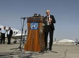 Kai Eide llega a Kabul como nuevo enviado especial de la ONU en marzo de 2008. Desde entonces, Afganistán ha experimentado un gran progreso, pero después de la toma de posesión de los talibanes, hay muchas dudas.  Foto: Omar Sobhani / Reuters / NTB