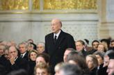 Valéry Giscard d'Estaing was president from 1974 to 1981. He died of coronary heart disease in December 2020. Her funeral to politician Philippe Seguin in 2010. Stock Photo: Eric Feferberg / pool via AP / NTB
