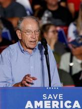 Chuck Grassley onder het presidentschap van Trump is Volkemot Iowa.  Foto: Rachel Mamie/Reuters