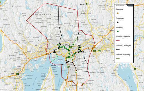 Slik Blir Det Nye Bomsystemet I Oslo Og Akershus Fra 1 Juni Abc