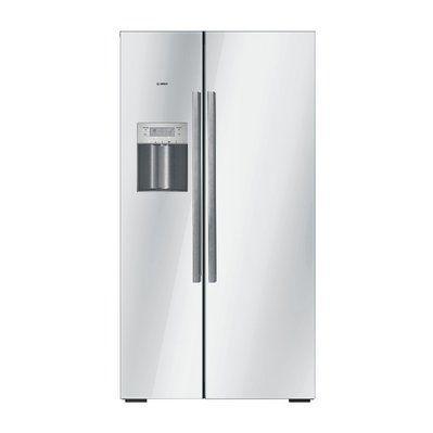 kjøleskap med isbitmaskin