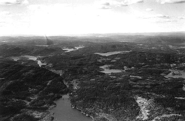 Skjærsjøen og Bjørnsjøen: