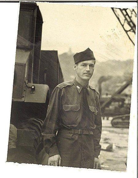 Reidar Myhre i Kina etter krigen.