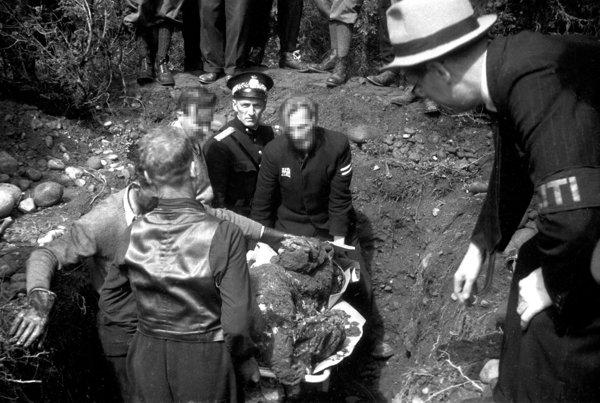 Utgravingen av massegraver på Trandum: