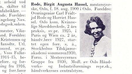 Birgit Augusta Hassel Rode: