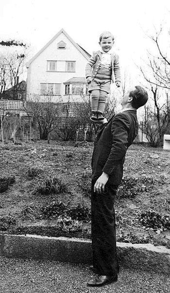 Per Frivik som pappa: