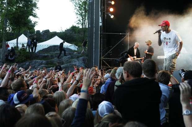 9987edb6 Et entusiastisk publikum fikk i fjor oppleve det amerikanske bandet N*E*R*