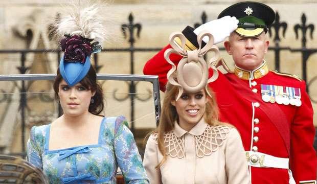 35db0eb9fa7e Og hva var det med hattene til prinsessesøstrene Beatrice og Eugenie  Her er  dagens største moteflauser.