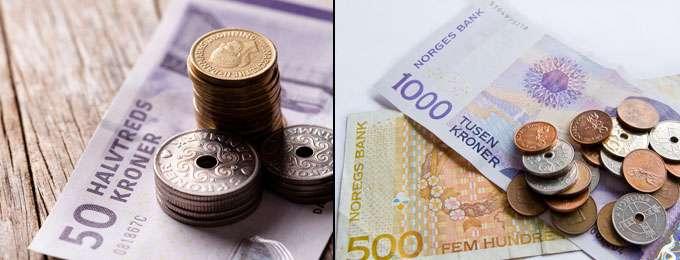 danske kroner til norske kroner