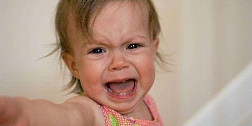 90e0adab RASENDE: Barn kan ha et voldsomt temperament, noe som kan være utfordrende  for selv