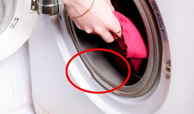 c6251038 Vasker du tøyet skittent? I gummlisten rundt døren kan bakterier overføres  fra vask til vask