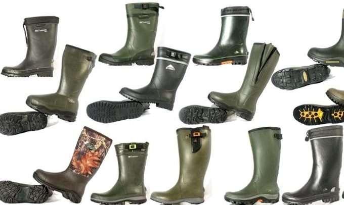 10b00947295 GUMMISTØVEL: Klikk Helse og Villmarksliv har testet 14 par gummistøvler for  turbruk. Foto: