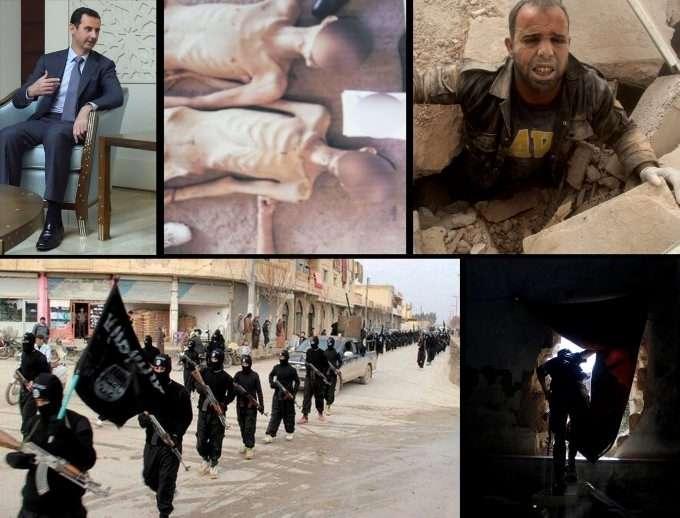 edcb6e6f ... islamistiske bevegelsen ISIL nå er i ferd med å bli Assad-regimets  hovedmotstander i krigen om Syria. I valget mellom de to, bør ikke Vesten  motarbeide ...