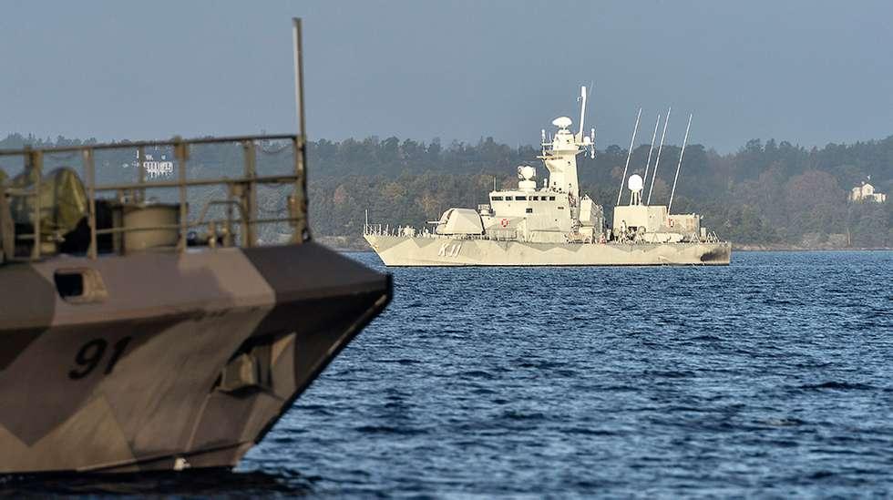 Svenska korvetter i brittisk styrka
