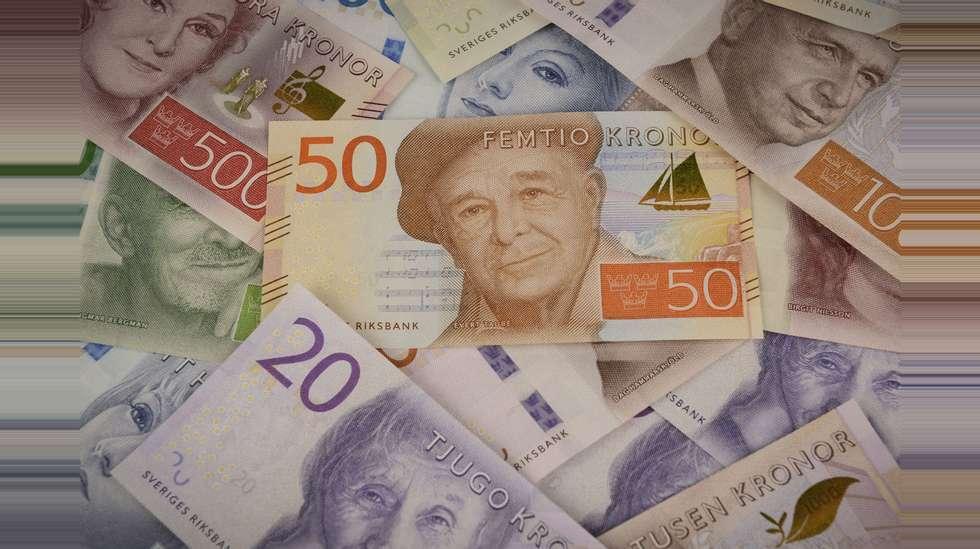 veksle svenske kroner til norske