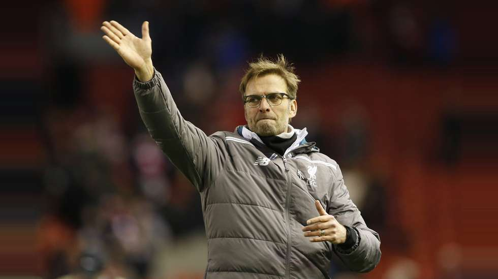 5cf54782 Jürgen Klopp håper å vise vei når Liverpool møter Manchester City i  ligacupfinalen søndag. Foto