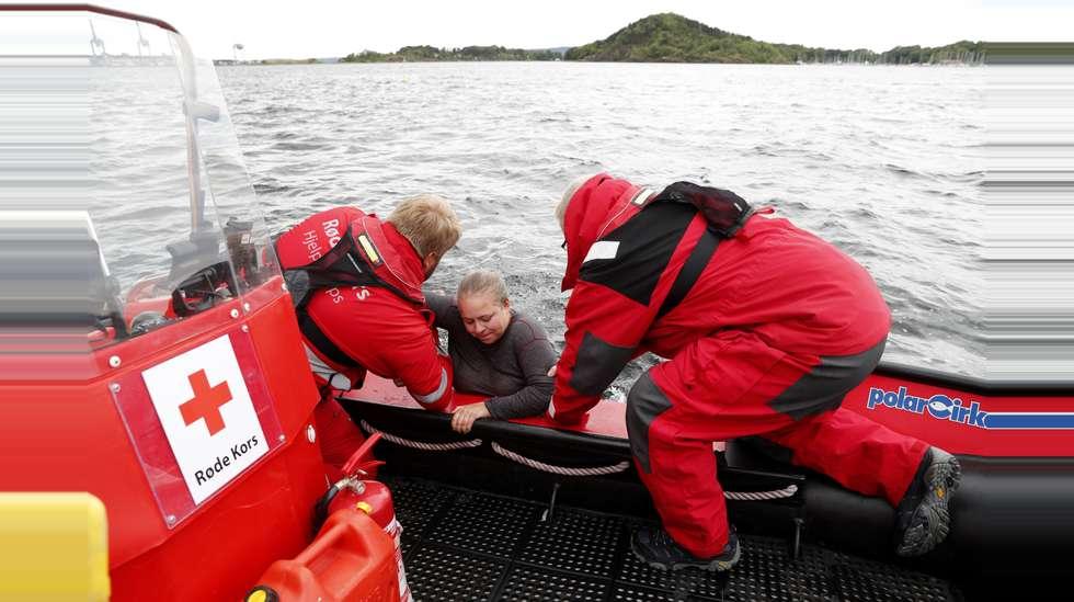 2473a0c6 Røde Kors har vært på 366 redningsoppdrag hittil i år. Bildet viser Trude  Elise Stern