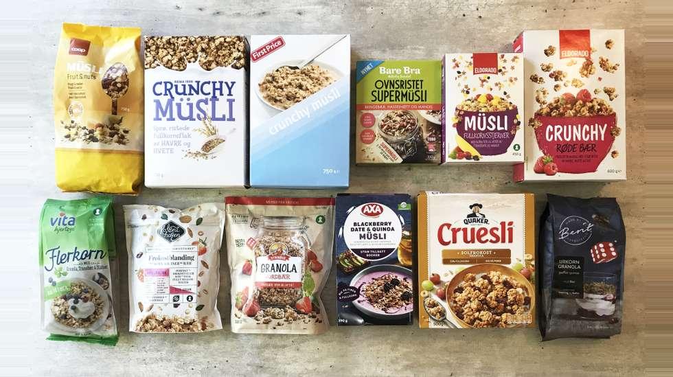 58323e097d9c9 Müsli og granola  – Ikke noe jeg anbefaler som en daglig del av kostholdet