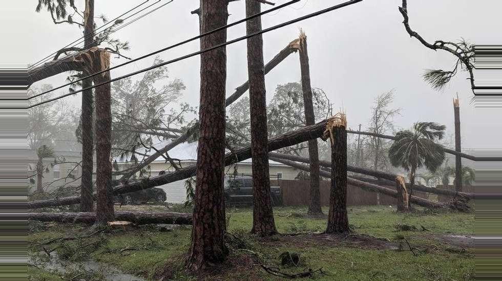 f1c64b5e0 Michael er voldsomste orkan i USA siden 1969 | ABC Nyheter