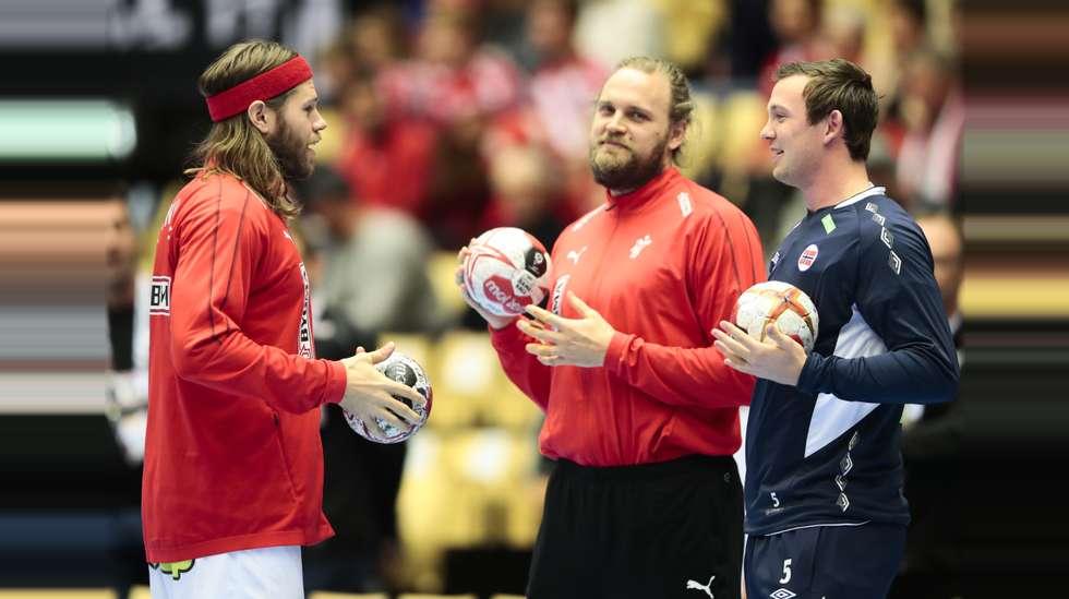 06eef7b2 Sander Sagosen er klar for å gi Danmark en omgang i VM-finalen. Det var en  tøff opplevelse å bli rundkjørt av danskene forrige uke.