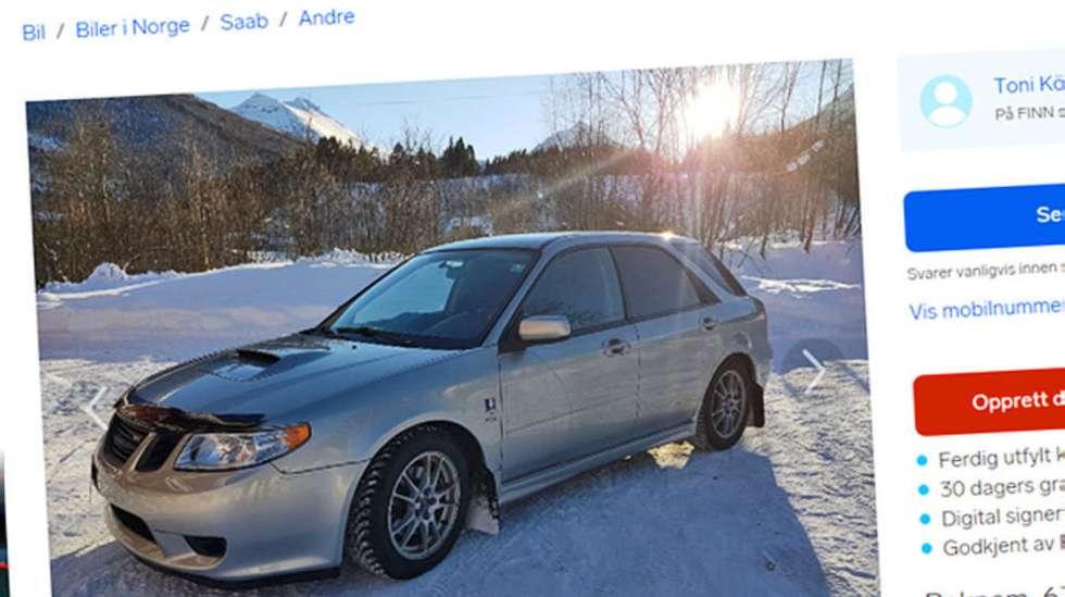 6c8d95f6 Mye Subaru og litt Saab: Resultatet heter 9-2X og ble produsert i et