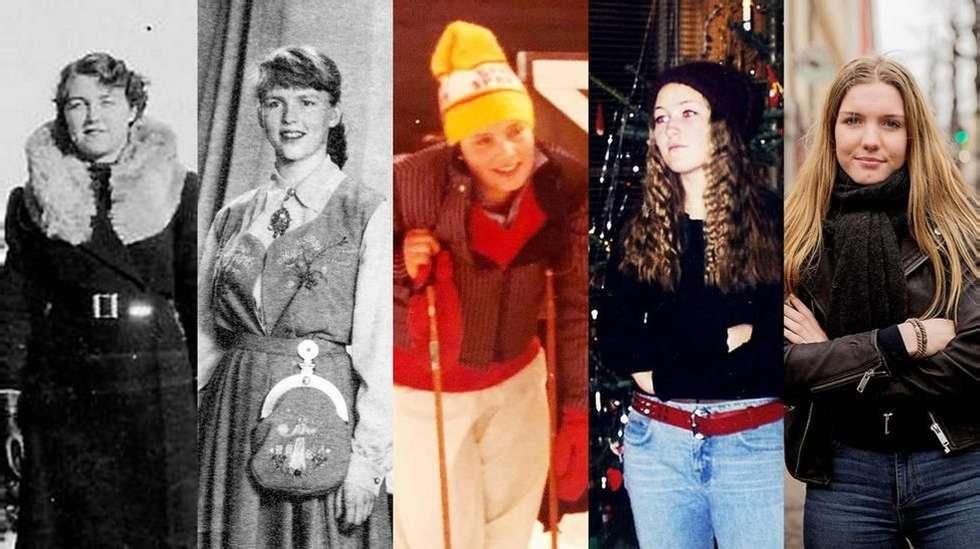 ffe2b718 Tenåringsjentene: Hva har Ella (102), Astrid (81), Anne (55), Stine (33) og  Leonora (15) til felles? | ABC Nyheter