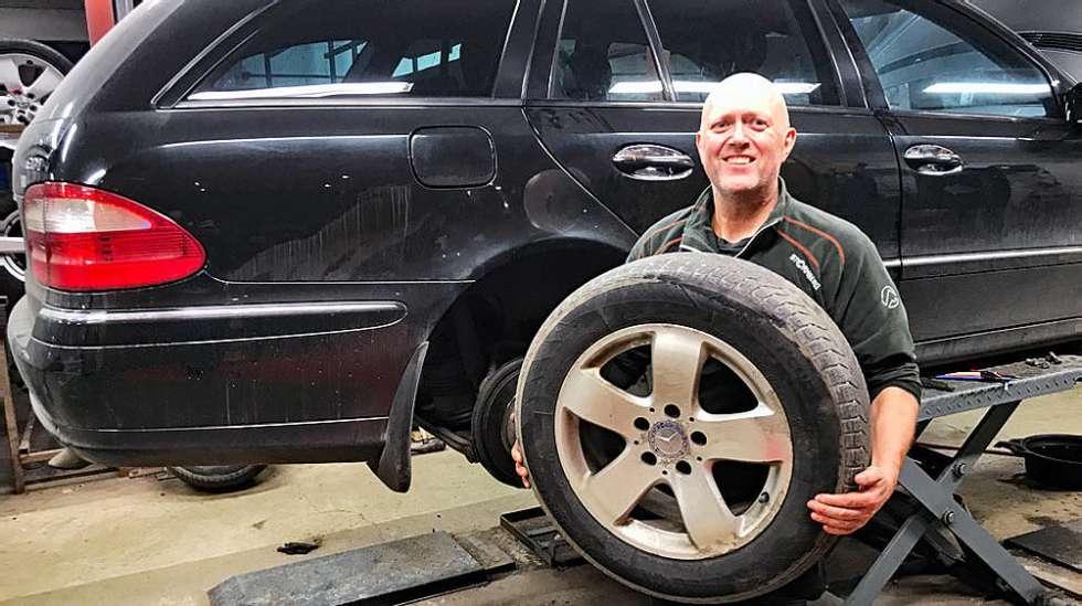 86653b9d Har du en ny og avansert bil gjør du kanskje smart i å ikke skifte hjulene