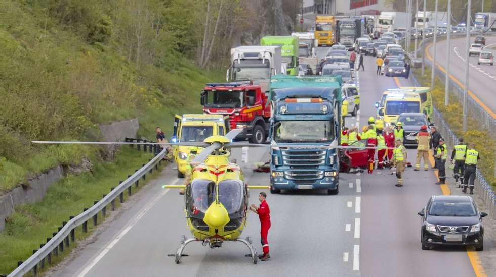 bilulykke i sverige i dag