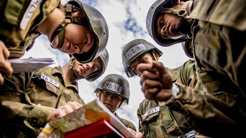 ddfba415 Tøffe opptaksprøver i gang i Forsvaret   ABC Nyheter