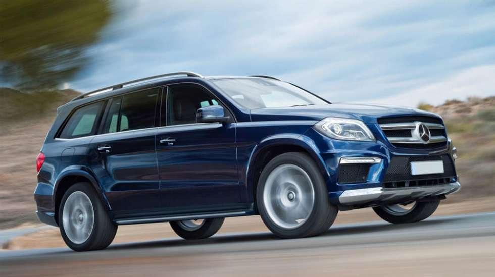 66cb6de8 En stor og flott Mercedes GL skulle selges i kommisjon hos forhandler. Men  mens den