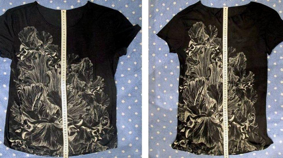 Har T skjorten din krympet? Ikke noe problem! | ABC Nyheter