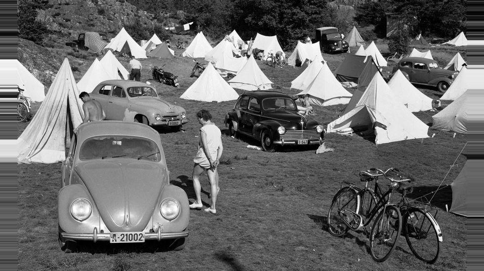 Campingvogn hekte mann eller kvinne