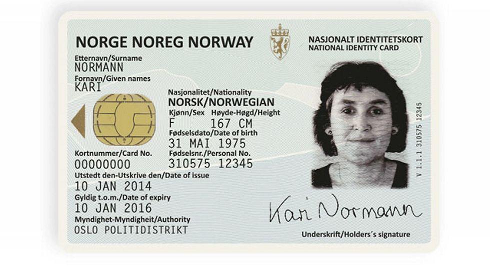 Justisdepartementet Tipper Nye Id Kort Og Pass Kommer I 2020