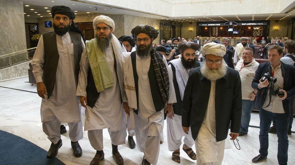 Fikk besøk av Taliban   ABC Nyheter