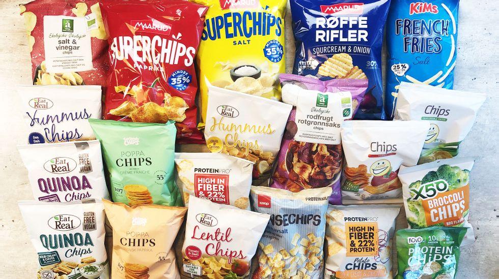 Stor Test Av Sunne Chips Ga 6 Er Rekord Abc Nyheter