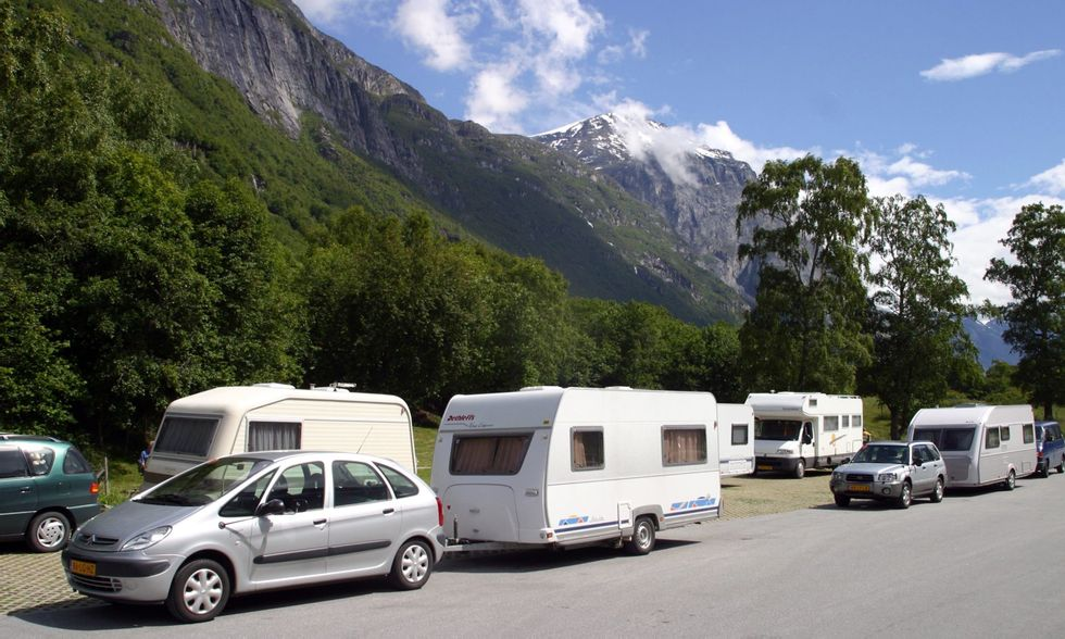 Camping hekte