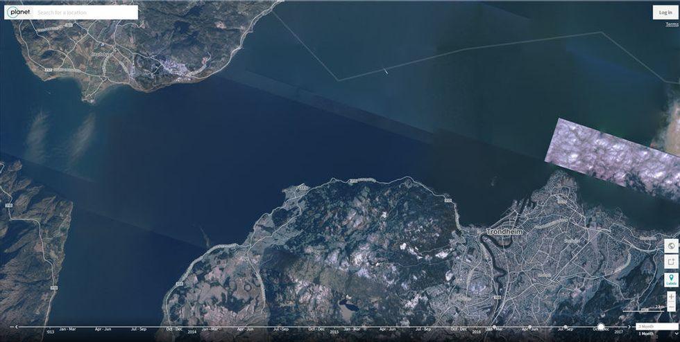 Se Verden Endre Seg Med Nytt Satellittkart Abc Nyheter