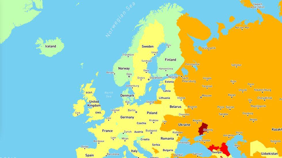 Dette Er Verdens Tryggeste Land A Reise Til Abc Nyheter