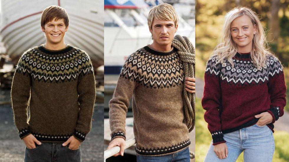 Strikk en myk favoritt | Tovet genser, Strikking, Genser