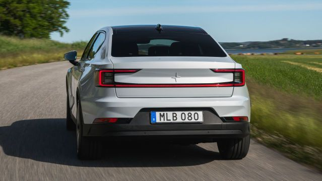 Many Polestar 2s start rolling on Norwegian roads.  This is admittedly a Swedish press car.