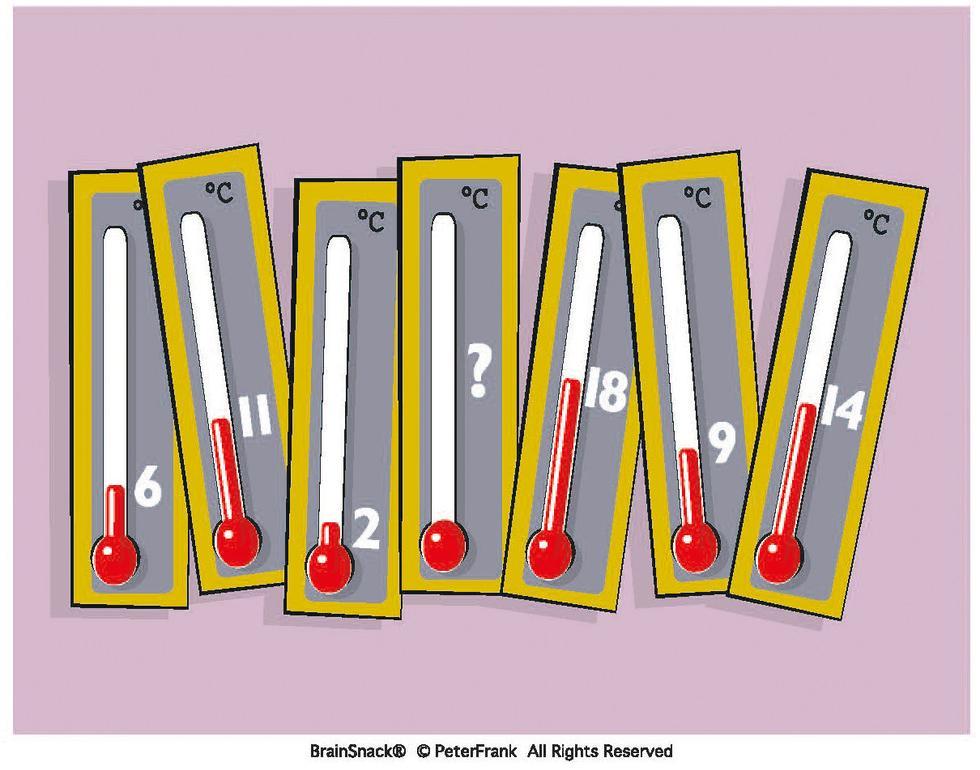 Hvilken temperatur mangler ?