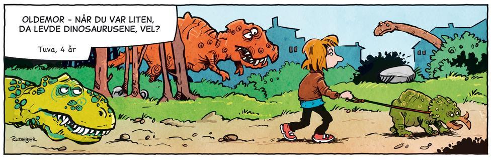 Barnas Planet - Oldemor og dinosaurene