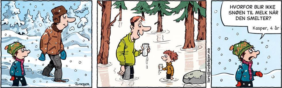 Barnas Planet - Snø til melk