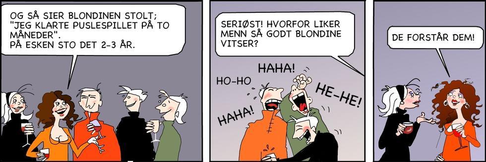 Singelliv - Blondinevitser