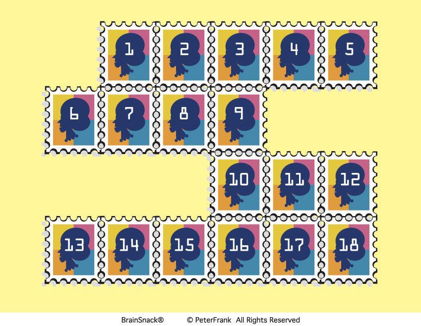 Hvilke frimerker blir brukt?