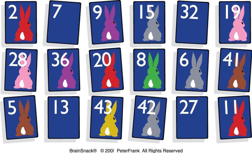 Hvor mange farger på harene?