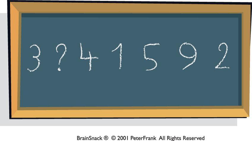 Hvilket tall mangler?