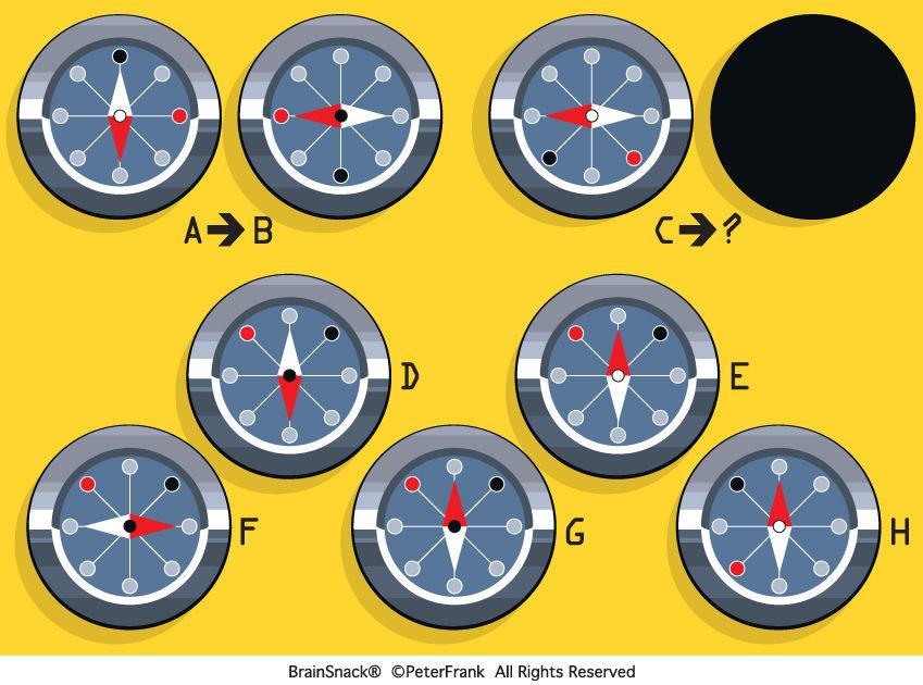Finner du riktig kompass?