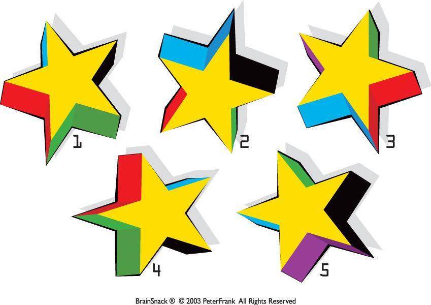 Hvilken stjerne passer ikke?