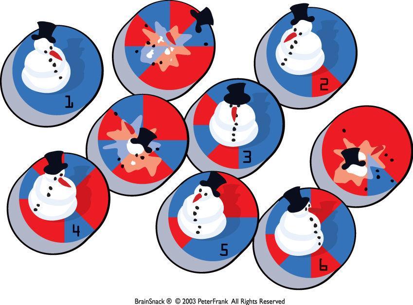 Hvilken snømann skal smelte?